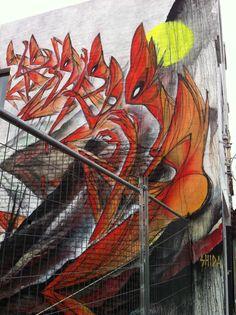 By Shida. Johnston Street, Collingwood, Melbourne, Australia. Photograph by Patricia Denis