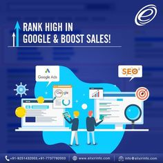 Increase traffic & visibility by ranking high in Google through both paid(Google Ads) and unpaid(SEO) efforts and boost your business leads and sales. Being a Google Adwords Certified Partner, Elixir Technologies deliver quality projects within budget and on time. We have more than 1000 loyal & happy clients worldwide. Read More on Below Link: Best Seo Company, Best Digital Marketing Company, Digital Marketing Strategy, Digital Marketing Services, Seo Services, Marketing Goals, Marketing Tactics, Inbound Marketing, Online Marketing