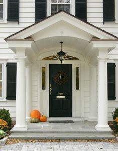 Exterior doors on pinterest painted storm door for Basic exterior door