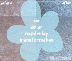 Counter Top Transformation