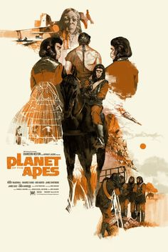 PLANET OF THE APES by Marc Aspinall