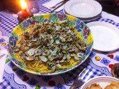 Arte culinaria che passione @ Passion for cooking: Spaghetti alle vongole e telline @spaghetti with...
