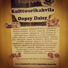 Tätä on kulttuurikahvila Oopsy Daisy