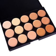 NEW 15 Colors Makeup Contouring Palette 15 earth color face concealer. Brand new in black palette box. An extensive range of 15 multiple vibrant long wear concealer colors with different skin tones to create more than 10,000 amazing looks . Using the most commonly applied shades, ensures the best skin color match and guarantees a traceless and natural finish . Makeup Eyeshadow