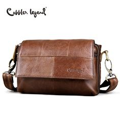 6d13d5262254 Cobbler Legend Original Women s Messenger Bag Genuine Leather Small  Handbags Vintage Crossbody Shoulder Bags For Women