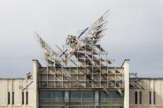 The Fossilized Soviet Architecture of Belarus, in Photos,Palace of Arts, by architect Boris Semyonovich Popov, 1989. Bobruisk, Belarus. Image © Stefano Perego