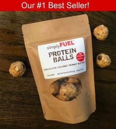 Chocolate Coconut Peanut Butter Protein Balls (12 pack)