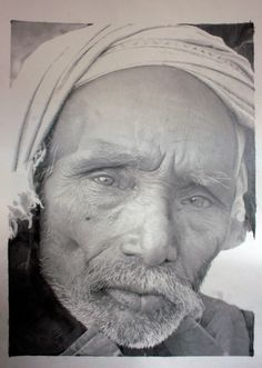 HyperRealistic Portraits By Michael Sydney Moore Grid Design - Artist uses pencils to create striking hyper realistic portraits