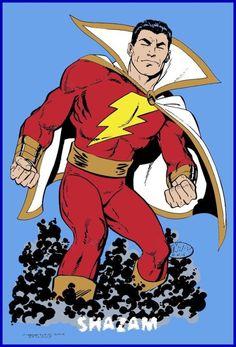 Marvel Comics, Dc Comics Girls, Dc Comics Superheroes, Arte Dc Comics, Dc Comics Characters, Marvel Dc, Original Captain Marvel, Captain Marvel Shazam, Justice League Animated Movies