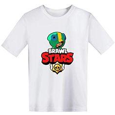Casuale Uomo Maglietta Brawl Stars Maniche Corte Maglia con Stampa 3D Estate Camicia Camicetta T-Shirt Tops Tee Blusa Maglietta da Ragazzo Bambini