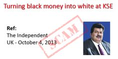 Black Money at KSE - What about the head?