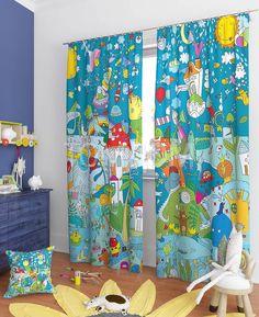 """Комплект штор """"Пинея"""": купить комплект штор в интернет-магазине ТОМДОМ #томдом #curtains #шторы #interior #дизайнинтерьера"""