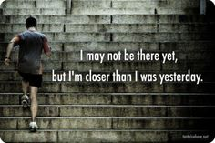 A daily reminder to keep moving forward!