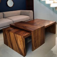 """819 Likes, 3 Comments - Tropical Exotic Hardwoods (@exotichardwoods) on Instagram: """"Here's a neat idea for a Parota coffee table! pic @casa.interiorismo #parota #woodslab #coffeetable…"""""""