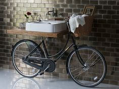 Vintage Washbasin Bicy by Regia is Basin-bike