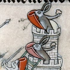 siege of Bunny Castle summer volume of the Breviary of Renaud, Metz ca. 1302-1305 Verdun, Bibliothèque municipale, ms. 107, fol. 137v