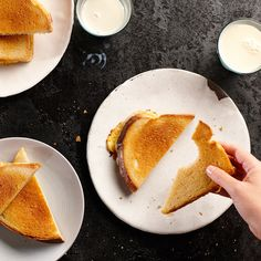 Two rimmed baking sheets and a hot oven mimic a giant panini press, making grilled cheese for a crowd a super quick and easy prospect.