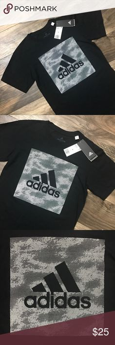 ADIDAS Unisex T-Shirt ✔️✔️ NWT Adidas Unisex shirt.  Let's be real you can never ever go wrong with a comfortable adidas shirt! Great for any look 🙌🏽  100% Cotton Never been worn and in excellent condition.  Feel free to ask questions. 😸  Bundle 2+ items to receive an automatic 5% off! adidas Tops Tees - Short Sleeve