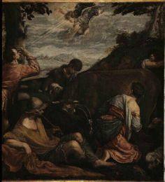 Jacopo Bassano : The Call of the Shepherds (Musée des beaux-arts de Chambéry  (France - Chambéry)) 1510-1592 ヤコポ・バッサーノ