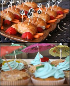 crab like sandwich - The Bubbly Hostess served up beach themed fun at her end of summer party. Heather Sneed/Bubbly Hostess