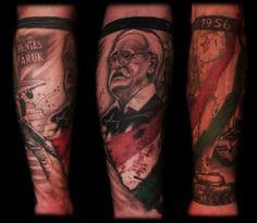 1956_hungarian_revolution_tattoo_by_dzsedi-d72w0hn.jpg (957×834)