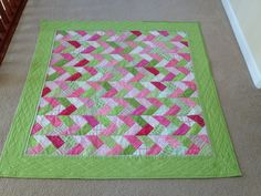 French Braid Tutorial - great Scrappy quilt