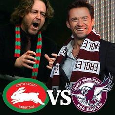 Via Russell Crowe on Twitter: South Sydney 23 Manly 4 (I don't actually care about Australian rugby all that much but this pic made me 10 kinds of happy)