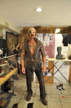 Men's Leather Barber Vest by HouseofJT on Etsy, $250.00