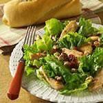 Warm Chicken, Cranberry & Walnut Salad