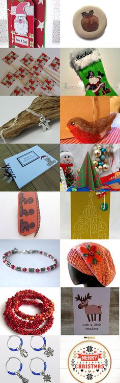 Its Christmas (well nearly!) by Diane Dawber on Etsy--Pinned with TreasuryPin.com