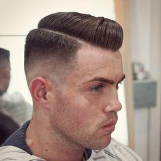 #menshair #mensstyle #menshaircut #mensgrooming #gentscut #sidepart #layrite #stayritewithlayrite #pomp #slickback #classic #oldschool #executivecontour #barber #barbering #barbergang #barberlife #ukbarber #internationalbarbers #barbershopconnect...