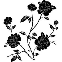 Vintage Flowers Rose 2 ❤ liked on Polyvore featuring flowers, backgrounds and filler