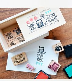 rubber stamp set.#Repin By:Pinterest++ for iPad#