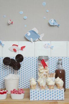 Fiesta infantil: la fiesta de los peces | Decorar tu casa es facilisimo.com