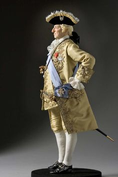 King Louis XV (1774) - Only in his Final Years did Louis XV make an Effort to take Full Control of his own Government