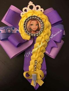 Idea: rapunzel ribbon
