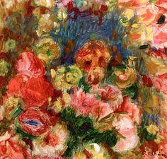 Flowers, Pierre Bonnard - 1902
