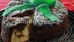 New year's eve cake Greek Sweets, Greek Desserts, Greek Recipes, Just Desserts, Xmas Food, Christmas Sweets, Greek Christmas, Christmas Cakes, Greek Cake
