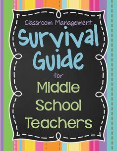 I'm Lovin Lit: New Middle School Teacher's Survival Guide, PART 3 (Final.. Really!)