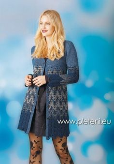 Dámský kabátek Ambra – NÁVODY NA HÁČKOVÁNÍ Amber, Sweaters, Fashion, Moda, Fashion Styles, Sweater, Fashion Illustrations, Ivy, Sweatshirts