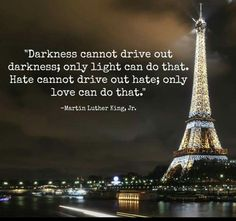 Wel heel bizar na wat er vannacht in Parijs is gebeurd !!