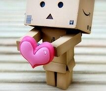 When i first got Danbo i never realised that he could have so many fans! We are both impressed so this is from Danbo to all his fans out there, he loves. Danbo loves you.