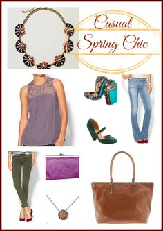 Casual Chic for Spring #FashionFriday