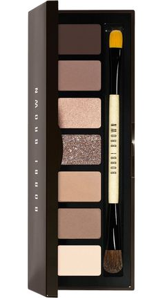 Bobbi Brown Rich Chocolate Eye Palette for Fall 2013  ($52)  Shades:  Bone (off white) Stone (medium ash brown) Frappe (medium ash beige) Caramel (silvery brown sparkle) Champagne Truffle (warm pink beige) Cocoa (warm ashy brown) Rich Chocolate (dark brown)