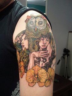 John Dyer-Baizley tattoo