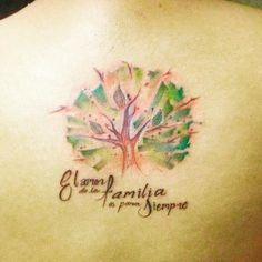 tree tattoos on back-15