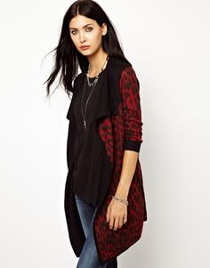 Diesel Animal Wrap Cardigan