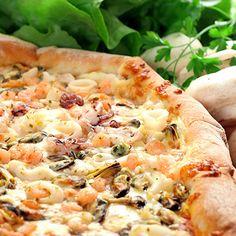 Pizza aux fruits de mer                                                                                                                                                                                 Plus