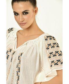 . Romania, Blouse, Folk Art, Traditional, Beautiful, Tops, Women, Fashion, Embroidery