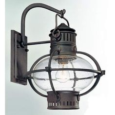 Portsmouth Large One-Light Outdoor Wall Mount